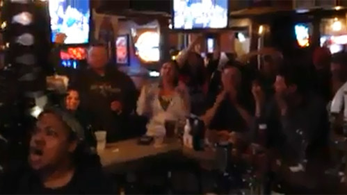 Video: WAnother epic UConn night @ TK's! Congrats Huskies!